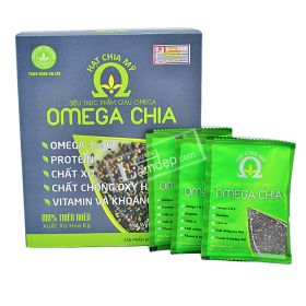 Hạt Chia Mỹ Omega Chia (15gr x 33 Gói)